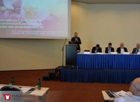 Vít Kaňkovský vystoupil na konferenci o kvalitě zdravotnictví