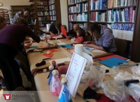 V kladenské knihovně proběhla módní přehlídka