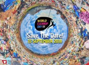 """Již za měsíc proběhne """"World Cleanup Day""""-největší dobrovolnická akce v historii"""